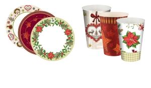 Kerstborden & kerstbekers