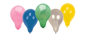 Ballonnen, effen