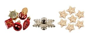 Kersttafeldecoratie