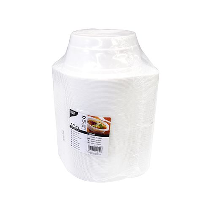 Suppenbecher To Go, PP rund 750 ml Ø 15,6 cm · 6,5 cm weiss mit Anfasser - Bild 2