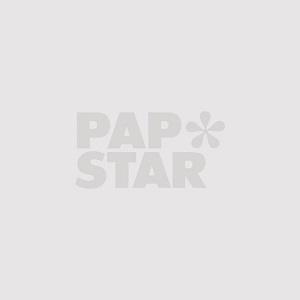 Plastikteller (PS), oval 21,7 x 15,7 x 2,1 cm weiss - Bild 1